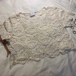 Lace/Crochet Crop Top